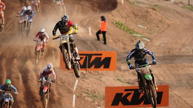 Jorge Prado, a por la primera plaza del campeonato del mundo de motocross, en Eurosport