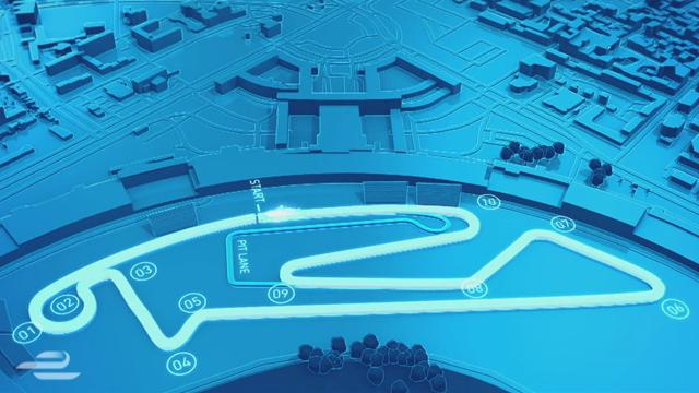 ePrix in Berlin: Die Strecke für die Formel-E-Action