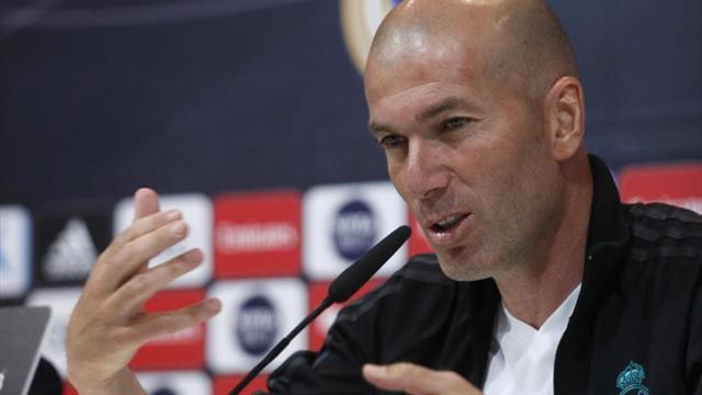 """Zidane felicita al Atlético y no responde a Juanfran porque le """"cae bien"""""""