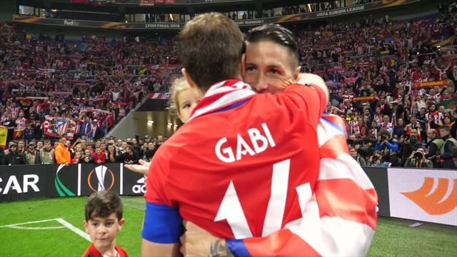 Así fue la celebración del Atleti en Lyon desde dentro