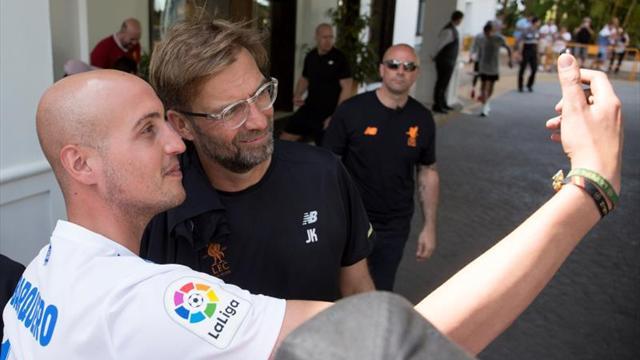 El Liverpool prosigue su preparación entre fuertes medidas de seguridad