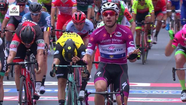 Giro d'Italia 2018: 13. etabın son kilometresi