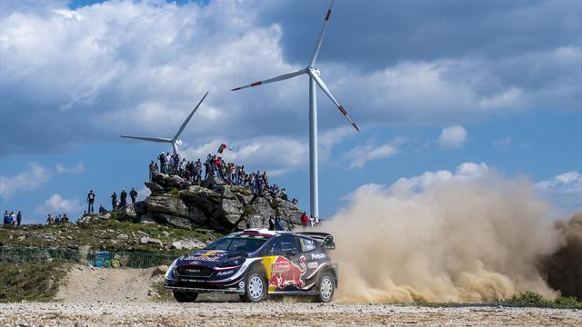 Ogier holds early Rally Italy lead
