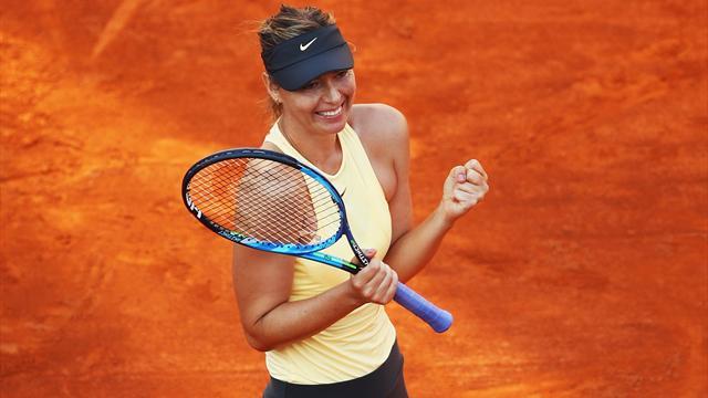Sharapova in semifinale col cuore e la classe: Ostapenko battuta dopo oltre 3 ore di battaglia