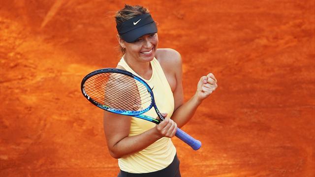 3h10 de jeu et Sharapova a renversé Ostapenko