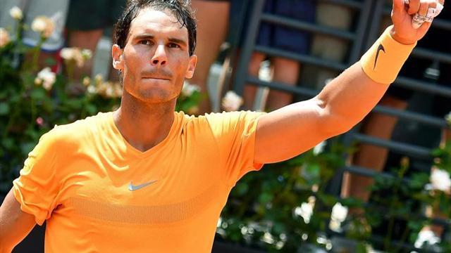 Rafa Nadal gana a Fognini y se mete en las semifinales de Roma cuatro años después