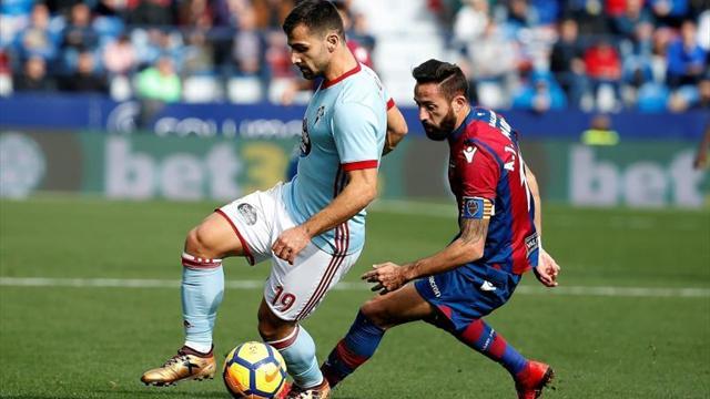 """El Celta cierra la """"era Unzué"""" frente a un Levante lanzado"""