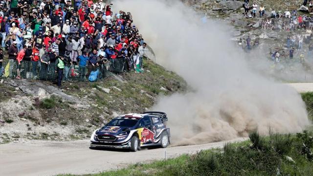 Ogier abandona el Rally de Portugal y pone en peligro su liderato mundial