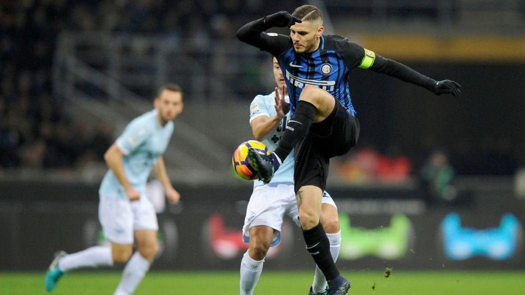 1338d8f4bb Lazio-Inter: chi va in Champions League? Tutte le combinazioni per centrare  il 4° posto - Serie A 2017-2018 - Calcio - Eurosport