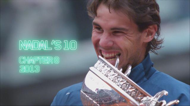 Roland Garros: El camino de Rafa Nadal en 2013