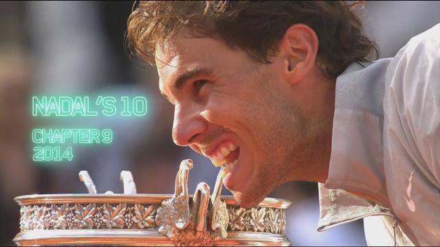 Roland Garros: El camino de Rafa Nadal en 2014