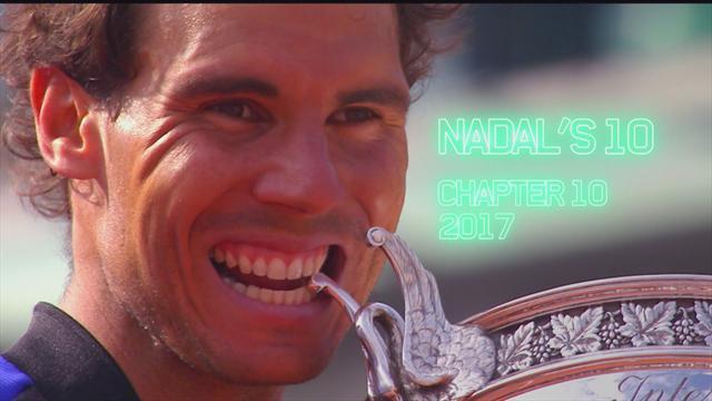 Roland Garros: El camino de Rafa Nadal en 2017