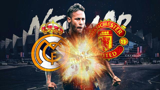 Euro Papers: Neymar boost for United as Real Madrid have second thoughts