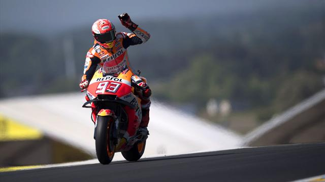 Marquez impérial, Zarco au tapis, Rossi sur le podium : Les temps forts de la course