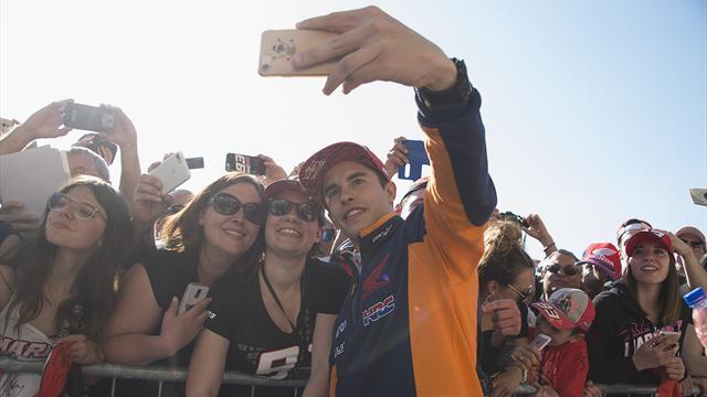 On refait le Grand Prix : Zarco et Dovizioso à terre, Marquez en apesanteur