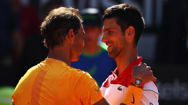 A Nadal la victoire, à Djokovic le sourire
