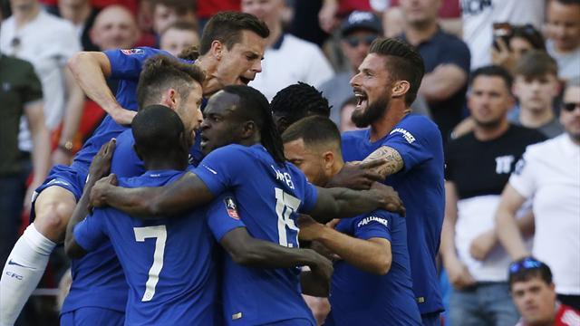 Un gol de Hazard da el título de la FA Cup al Chelsea (1-0) y deja a Mourinho en blanco