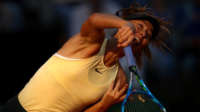 Шарапова проиграла Халеп в полуфинале Рима