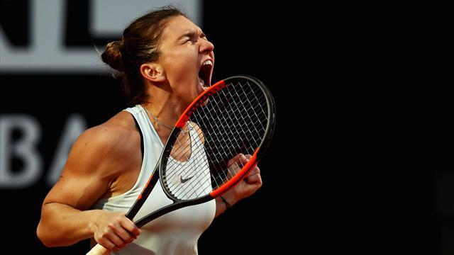 Au bout du suspense, Halep est venue à bout de Sharapova pour rejoindre Svitolina en finale