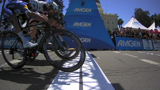 Gaviria tok sin tredje etappeseier