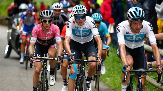 «Джиро д'Италия» впервые начнется в Венгрии в 2020 году