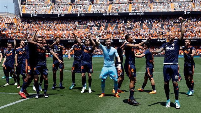 LaLiga Santander: Valencia-Deportivo: Broche de oro a una temporada inolvidable (2-1)