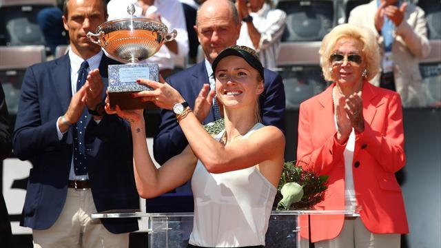 WTA Roma (Final), Simona Halep-Elina Svitolina: Idilio romano (0-6 y 4-6)