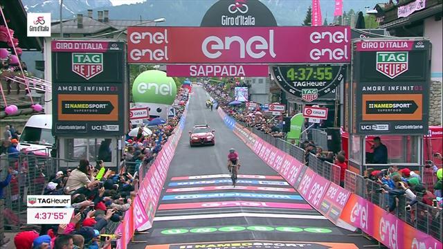 Giro d'Italia 2018: 15. etabın son kilometresi