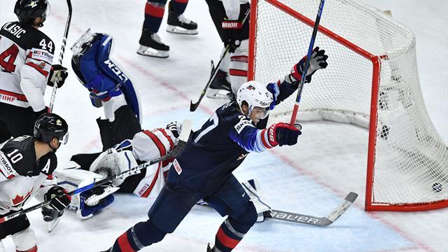 США победили Канаду и завоевали бронзу чемпионата мира