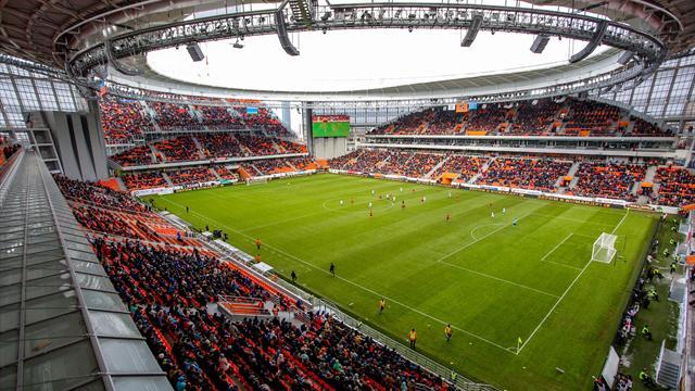 Ekaterinbourg, le drôle de stade dans lequel joueront les Bleus contre le Pérou