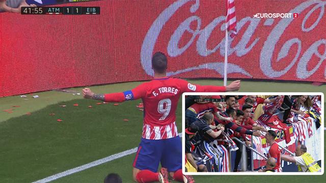 Highlights: Torres scorede to i sin afskedskamp på Wanda Metropolitano