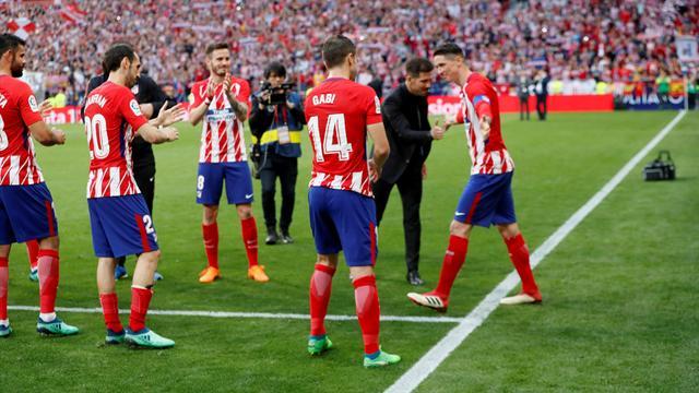 """Simeone: """"Torres volverá al Atlético; quizá nos encontremos otra vez"""""""