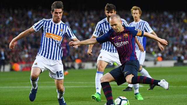 LaLiga, Barcelona-Real Sociedad: La última clase magistral de Iniesta (1-0)