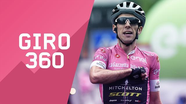 """""""Giro 360"""": Yates, pelle d'oca, tattica... Tutto il meglio e il dietro le quinte della 15a tappa"""
