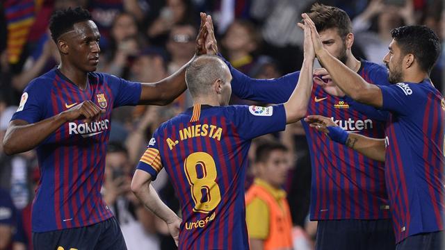 Iniesta s'en va sur une dernière victoire