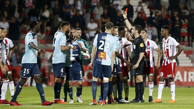 Une pluie de sanctions après Ajaccio – Le Havre, Coutadeur suspendu sept matches