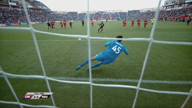 MLS: Chicago Fire - Houston Dynamo (Özet)