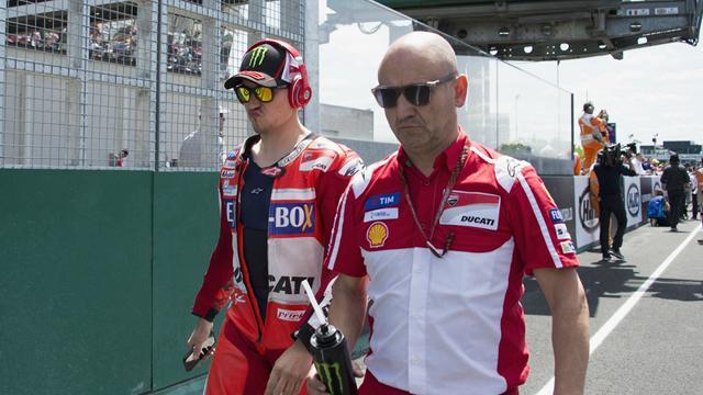 Lorenzo lascerà la Ducati