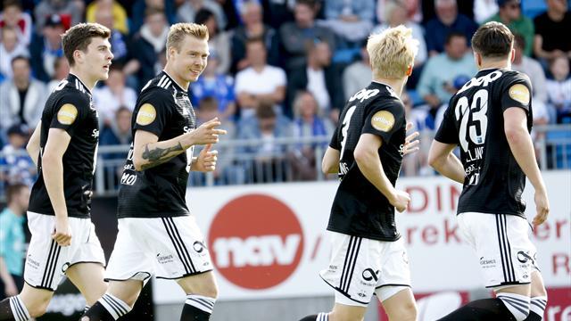 Glitrende Søderlund passerte Bendtner mot gamleklubben