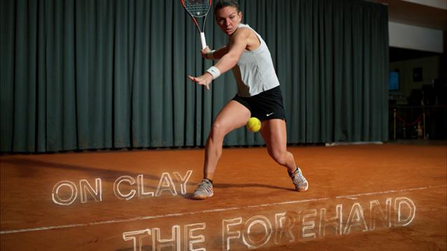 Simona Halep: The Forehand