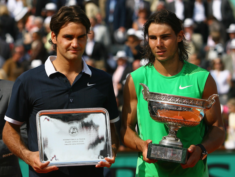 Roger Federer & Rafael Nadal (2008 Roland-Garros)