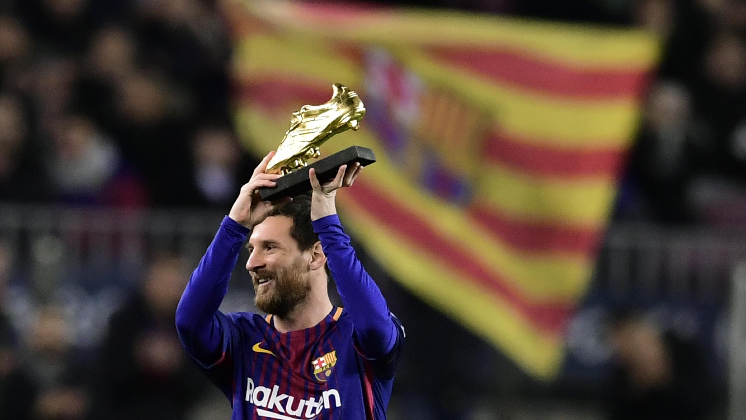Schuh Fußball Messi Mal Lionel Goldenen gewinnt fünften den zum QBerxWCod