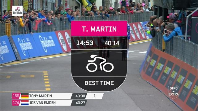 Key Moments, Stage 16: Dennis triumphs, Yates keeps pink