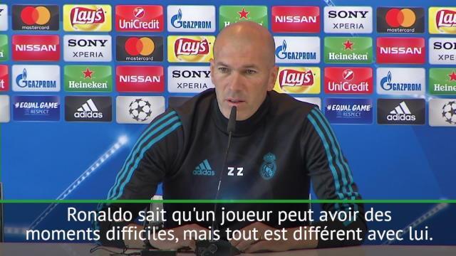 """Finale - Zidane : """"Si vous critiques Ronaldo, soyez prudent !"""""""