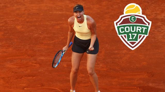 «Sharapova est vraiment sur le chemin du retour»