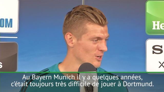 """Finale - Kroos : """"Difficile de jouer contre les équipes de Klopp"""""""