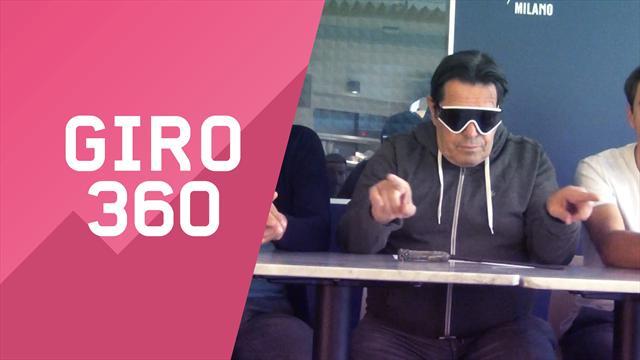 """""""Giro 360"""": Crono, VAR, occhiali... Tutto il meglio e il dietro le quinte della 16a tappa"""