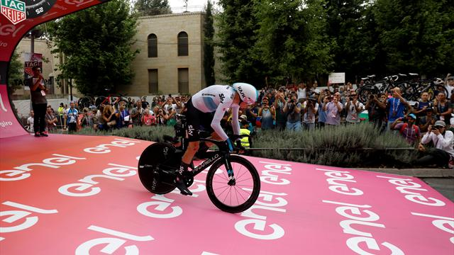 Behind the scenes at a Grand Tour time trial: What it's really like before riders hit the start ramp