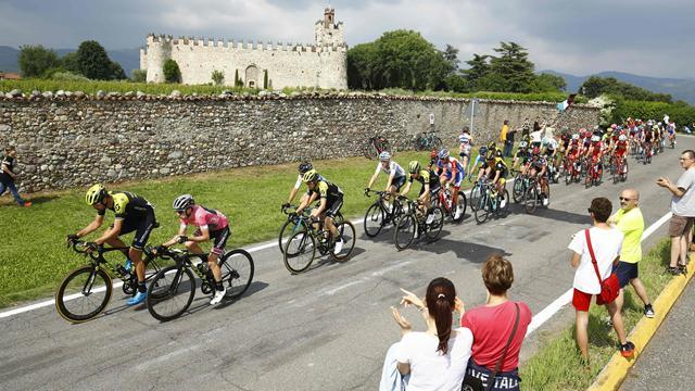 Giro d'Italia: Se høydepunktene fra etappen