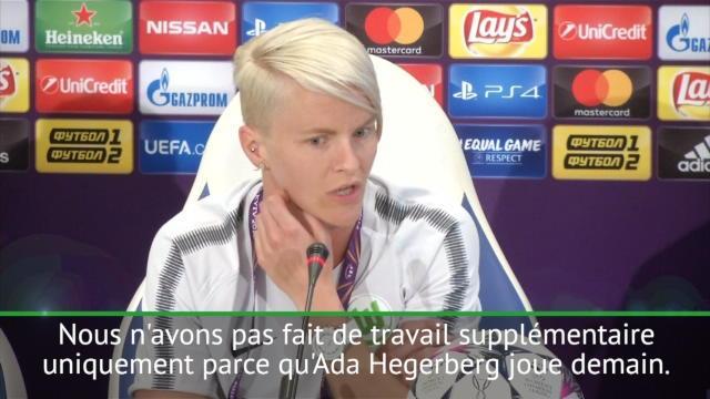 Finale (F) - Fischer n'est pas impressionnée par Hegerberg